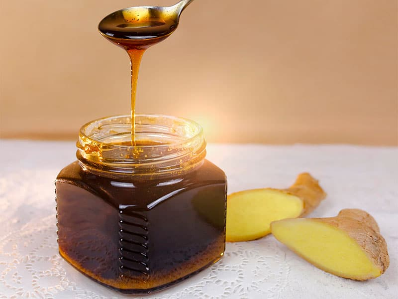 Sweet And Ginger Syrup