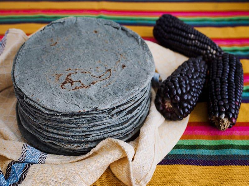Tortillas Maiz Azules Blue