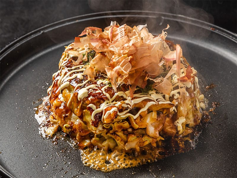 Traditional Pizza Okonomiyaki