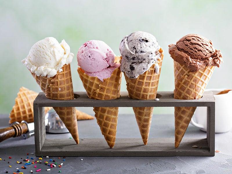 Vanilla Soft Ice Creams