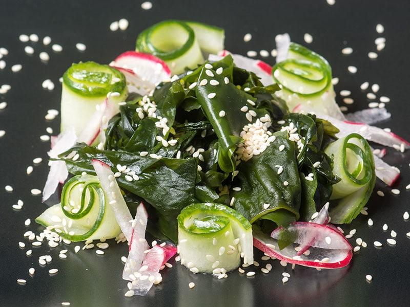 Wakame Kyuri Salad