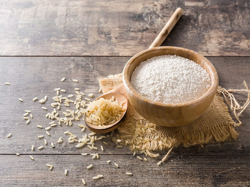 White Rice Flour Bowl