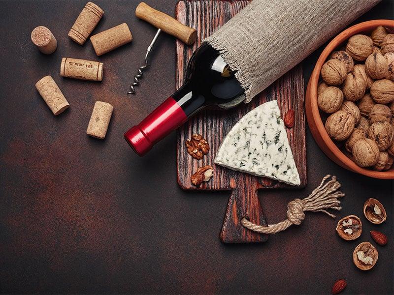 Wine Blue Cheese Walnut