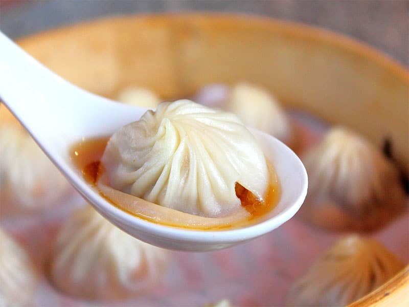 Xiao Long Bao Steamed