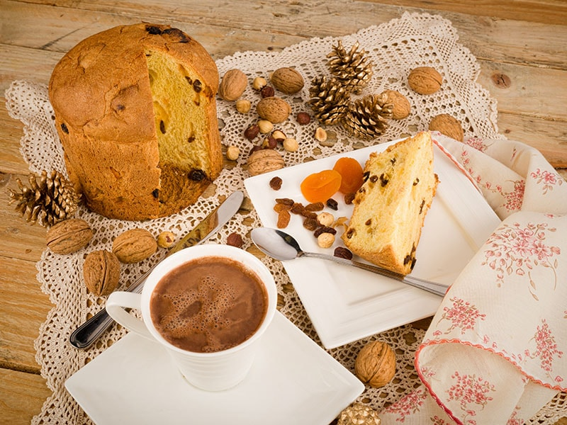 Panettone Served