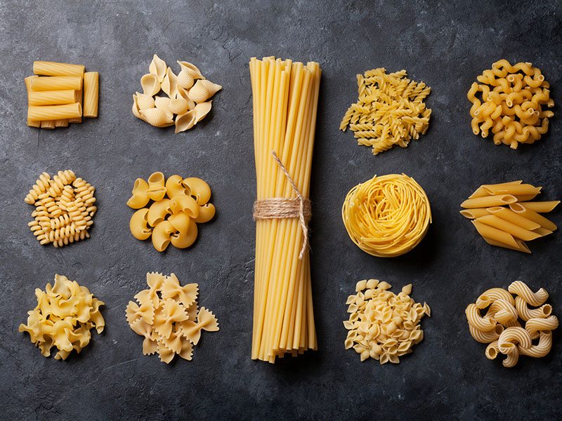 Various Pasta Cooking