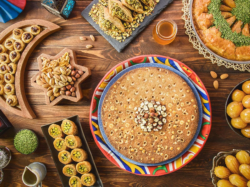 Arabic Cuisine Middle Eastern