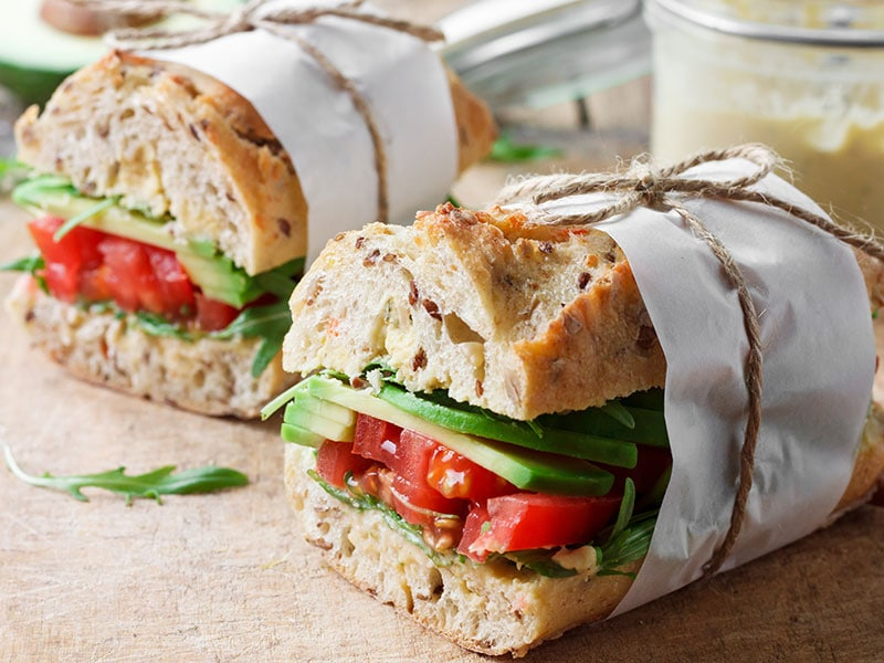 Avocado TLT Sandwich