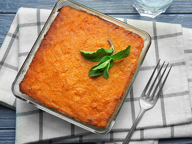 Baking Dish Tasty Carrot