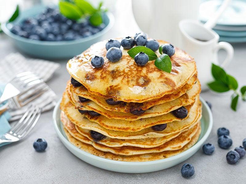 American Blueberry Pancake
