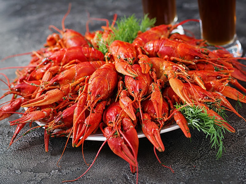 Boiled Crayfish Dill