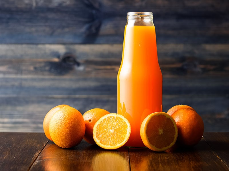 Bottle Orange Juice
