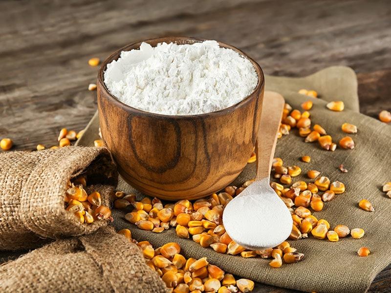 Bowl Corn Starch Kernels