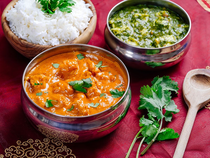 Butter Chicken And Saag