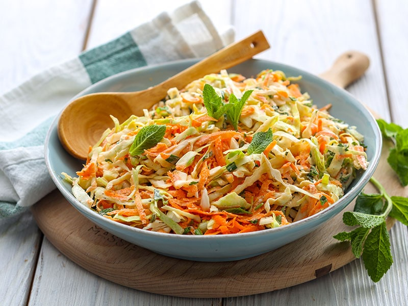 Cabbage Salad Carrots
