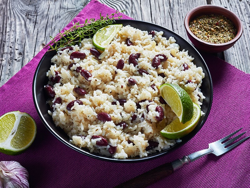 Caribbean Rice And Red Beans