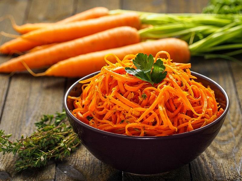 Carrot Spaghetti Ginger