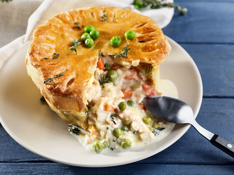 Chicken Pot Pie Green