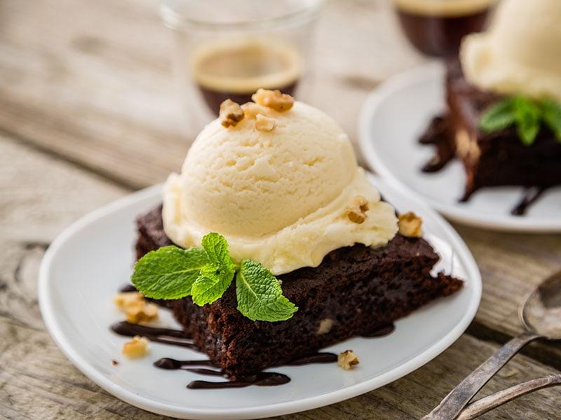 Chocolate Brownie Vanilla Ice