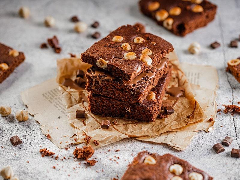 Chocolate Pecan Sheet Cake