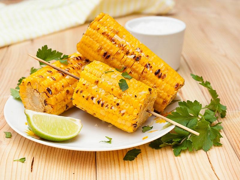 Cobs Cooked Corn
