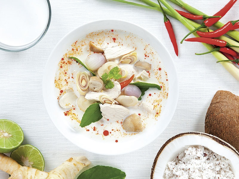 Coconut Milk Soup Chicken