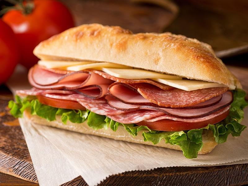 Cold-Cut Deli Sandwich