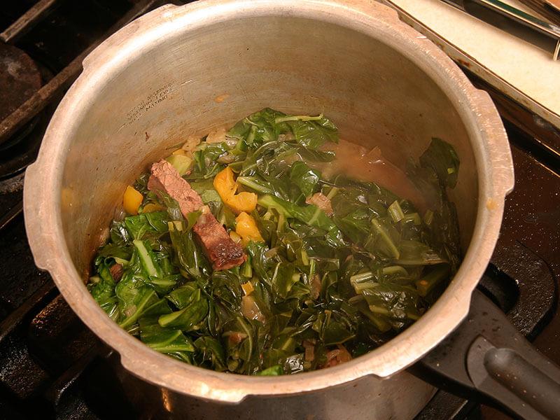 Collard Greens Pot