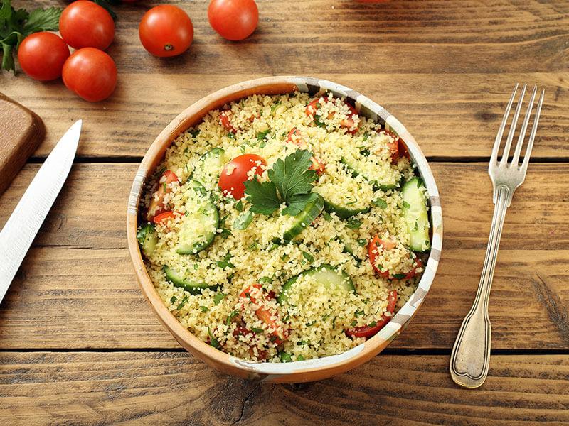 Couscous Salad Dish