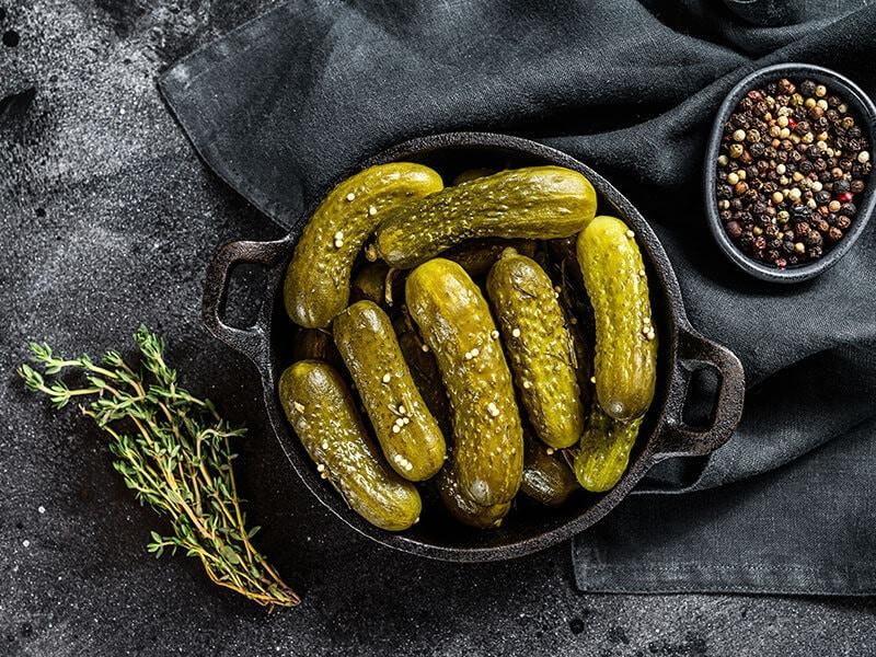 Cucumbers Pickles