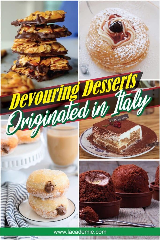 Devouring Desserts Italy