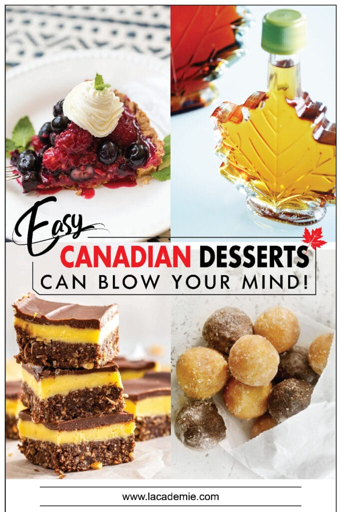 Easy Canadian Desserts