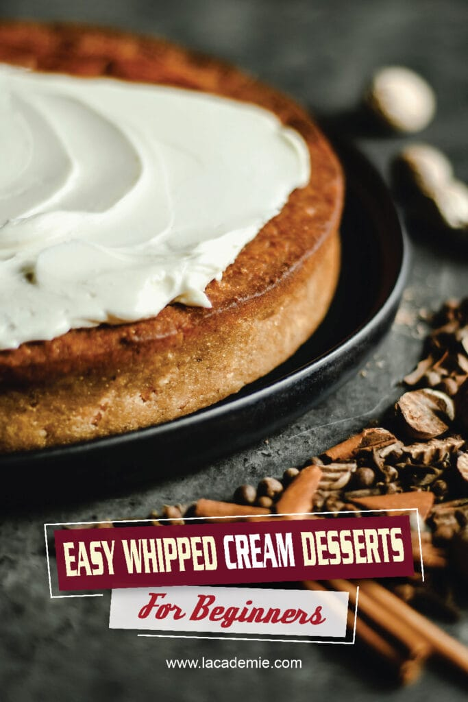 Easy Whipped Cream Desserts