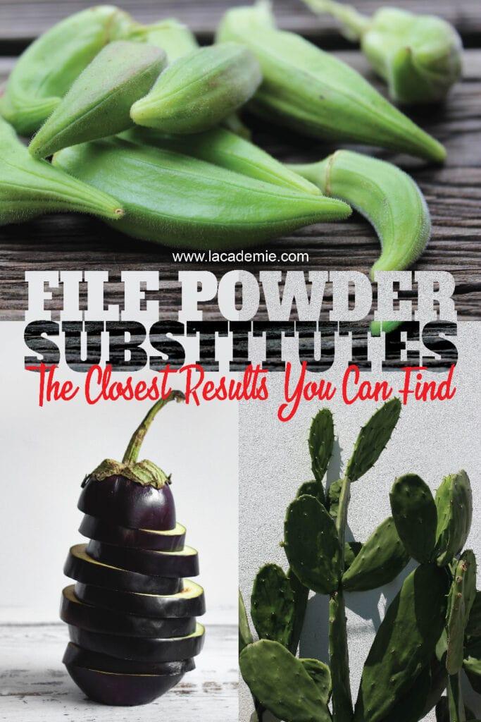 File Powder Substitutes
