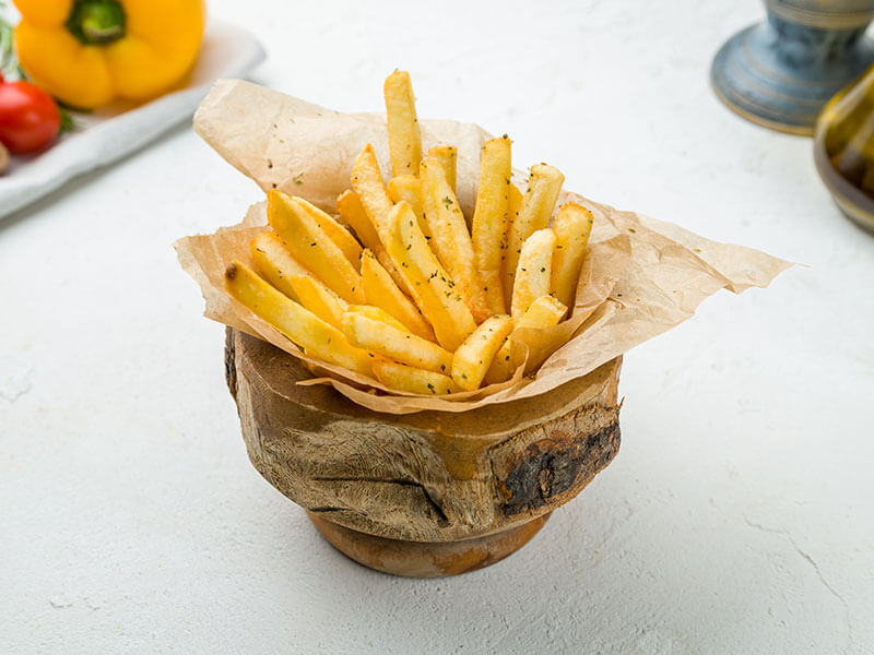 French Fries On Bowl
