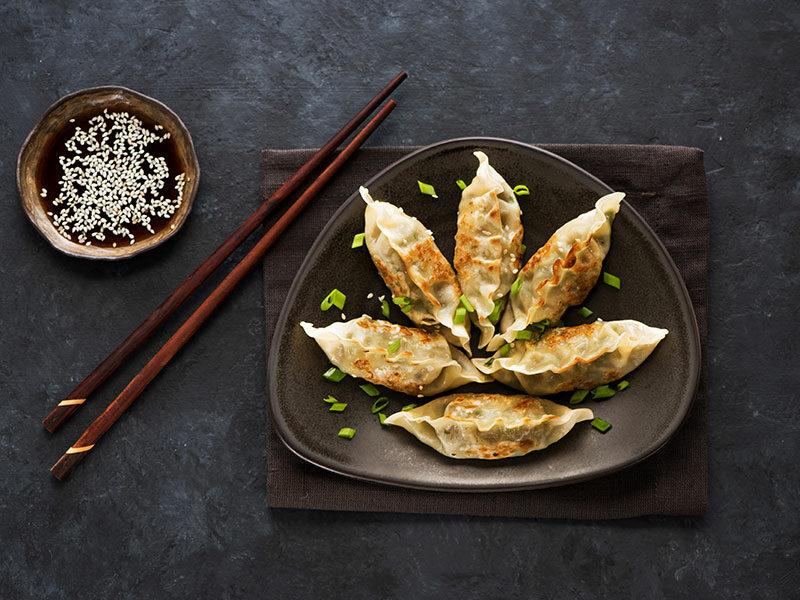 Fried Asian Dumplings