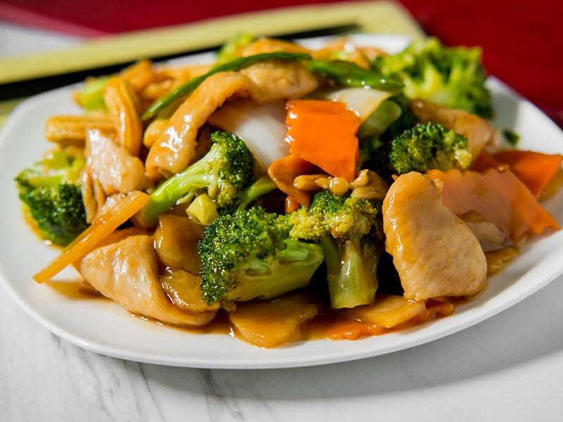 Fried Stir Sour Sauce Vegetable