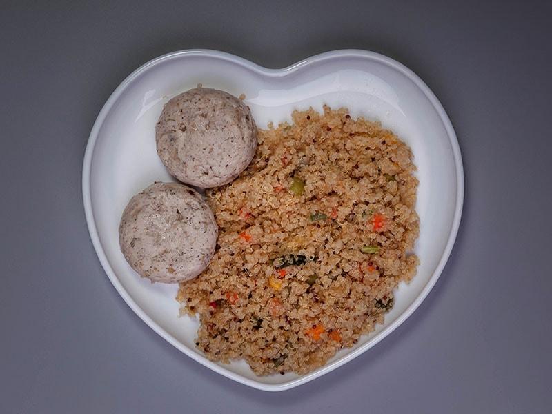 Garnished Quinoa Vegetables