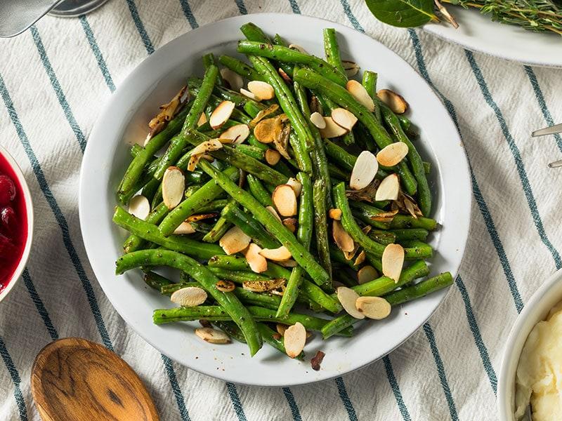 Green Beans Almonds