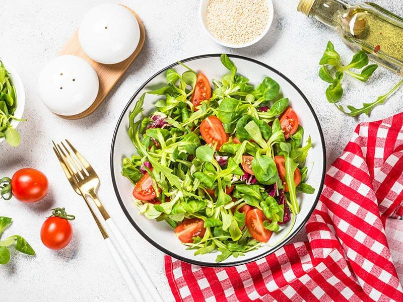 Green Salad Arugula Lamb