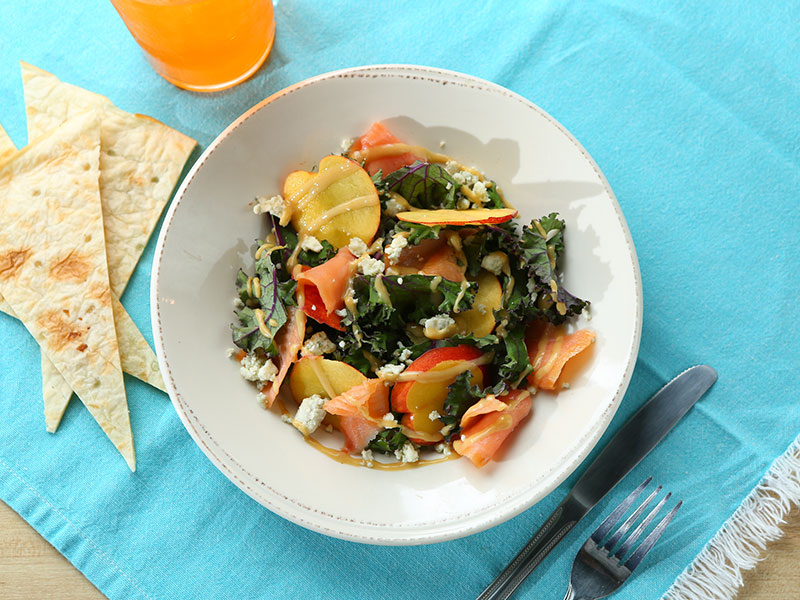 Green Salad Salmon Dishes