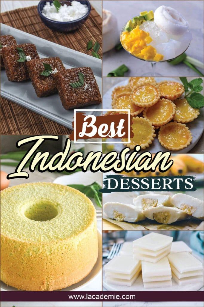 Indonesian Desserts