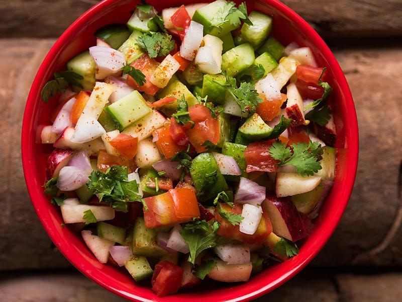 Kachumber Green Salad