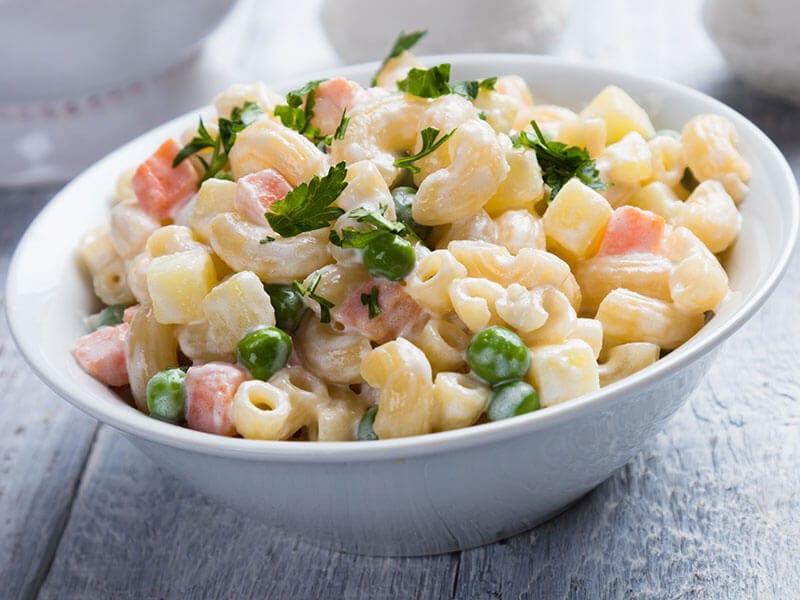Macaroni Salad Elbow Pasta