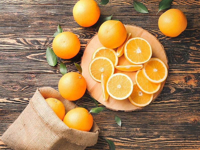 Orange Lends Citrus Aroma