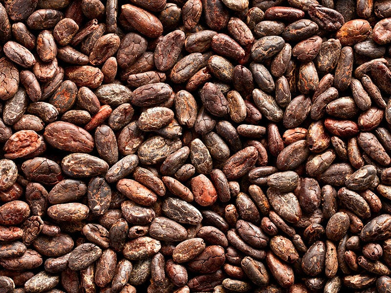 Pattern Cocoa Beans