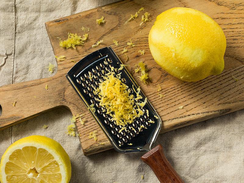 Peel Lemon Zest