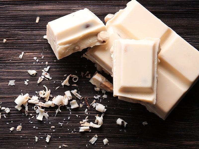 Pieces White Chocolate