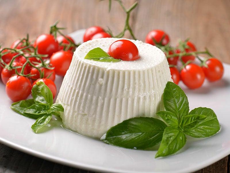 Ricotta Cheese Basil Tomatoes
