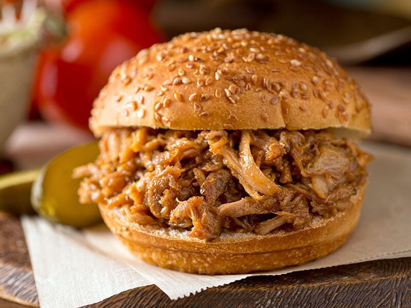 Roasted Pulled Pork Sandwich